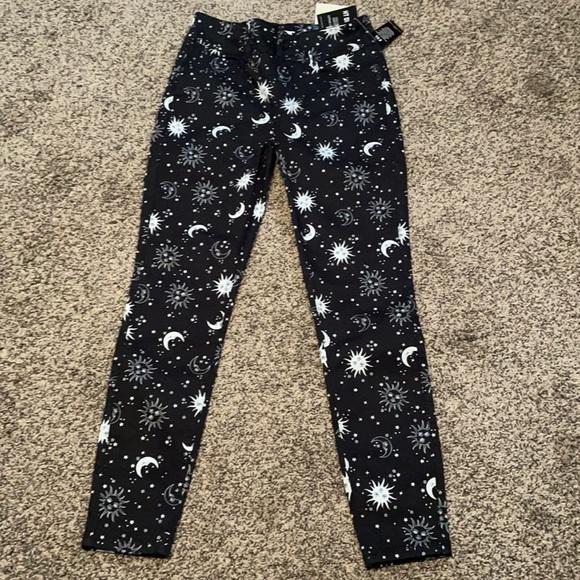 HotTopic Celestial Super Skinny Pants